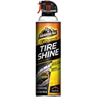 ArmorAll Extreme Tire Shine, Wet, Black Wheel Shine, Aerosol Spray 15oz