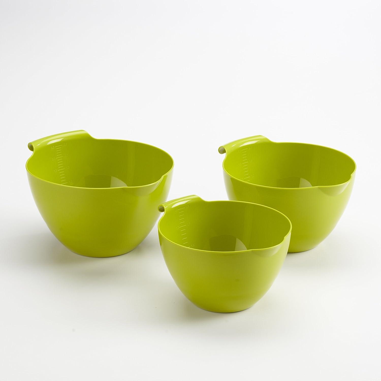Linden Sweden 3-Piece Mixing Bowl Set Green Apple INC 4310.56