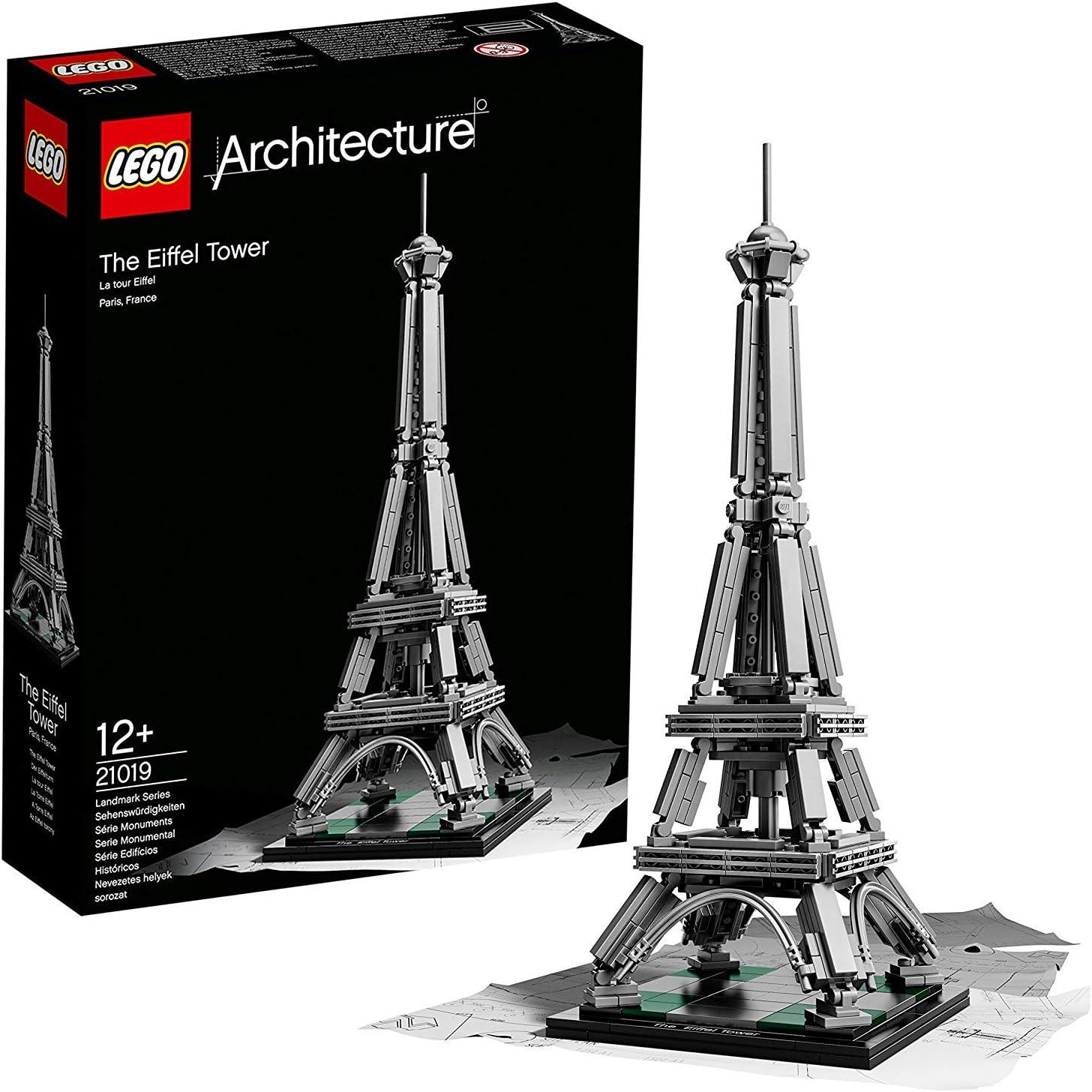 LEGO Architecture - Juego de construcción La Torre Eiffel (21019): Amazon.es: Juguetes y juegos