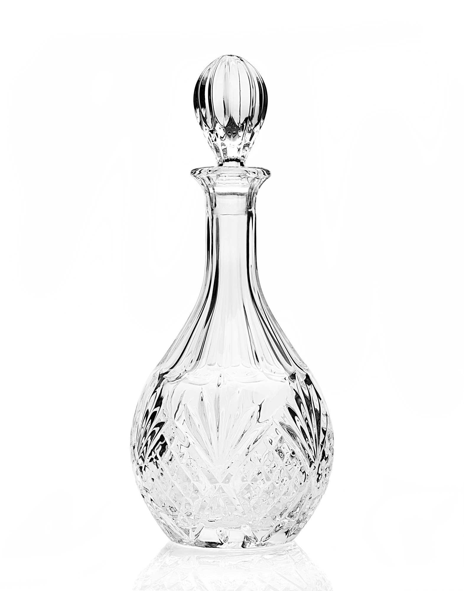 Crystal Wine, Whiskey, Vintage Decanter Bottle with Stopper