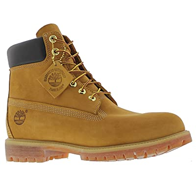 Timberland 6 Inch Premium Men's Boots Wheat Nubuck tb010061 | Work & Safety