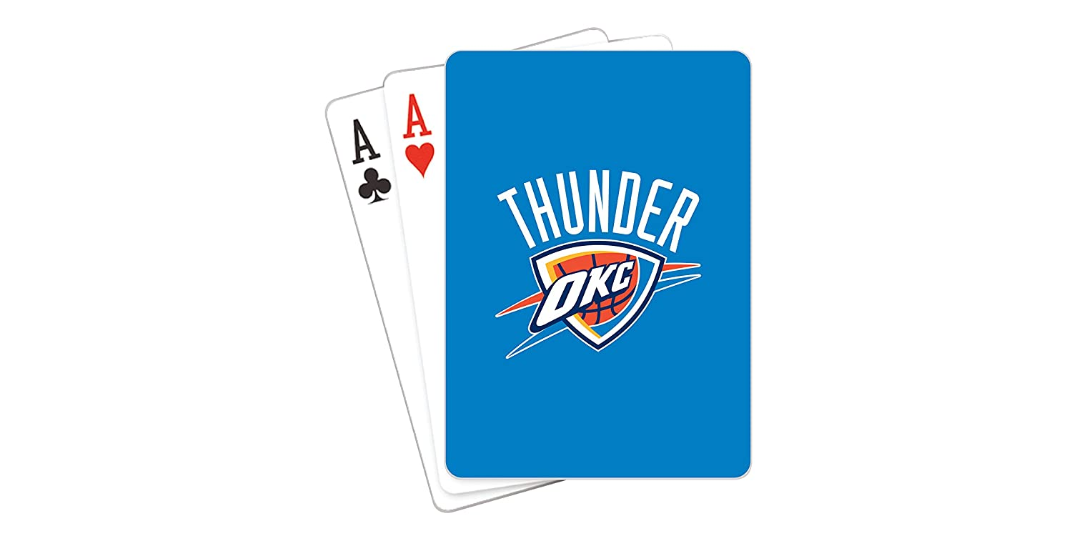 e1edcc314a1 Amazon.com   NBA Oklahoma City Thunder Playing Cards   Sports Fan Games    Sports   Outdoors