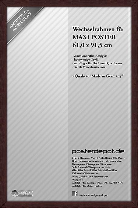Marco de madera marco de fotos marco intercambiable para Póster - 61 ...