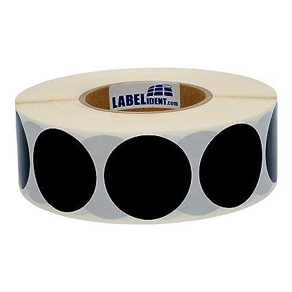 PVC-Folie schwarz Bogen 240 Klebepunkte 15 mm Markierungspunkte