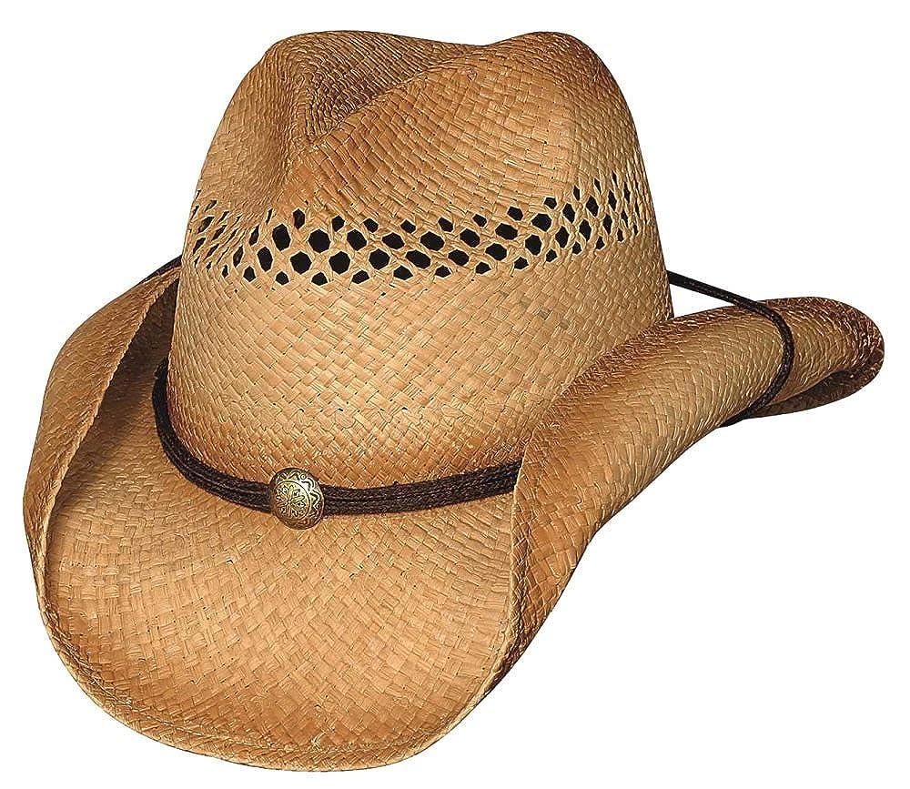 Raffia Straw Cowboy Hat Bullhide Blaze
