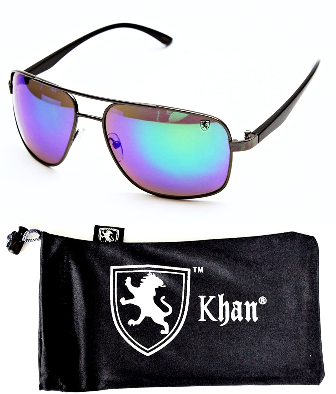 A77-kp Khan Turbo Sport Lion Logo Sunglasses