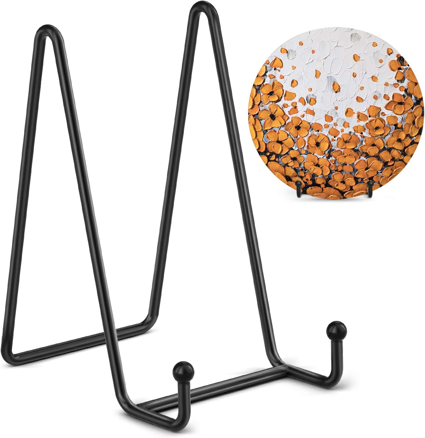 Natural Tripar 6 Inch Plate Stand