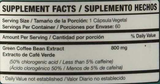 BeMedFree.com Café Verde Puro pastillas de 800 mg ♥ Pure Green Coffee Bean Extract 800 mg