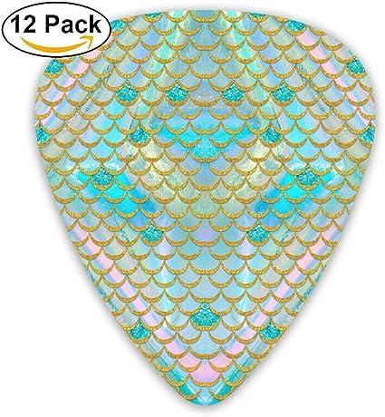 Púas clásicas de cola de sirena de diamante rosa (12 unidades ...
