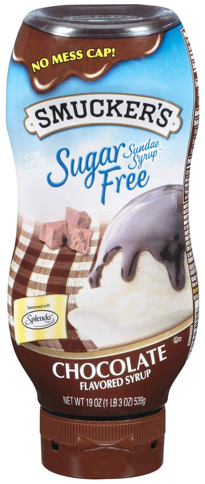 Smucker's  Sundae Syrup(TM) Sugar Free Chocolate Flavored Syrup, 19-Ounce (Pack of 6)