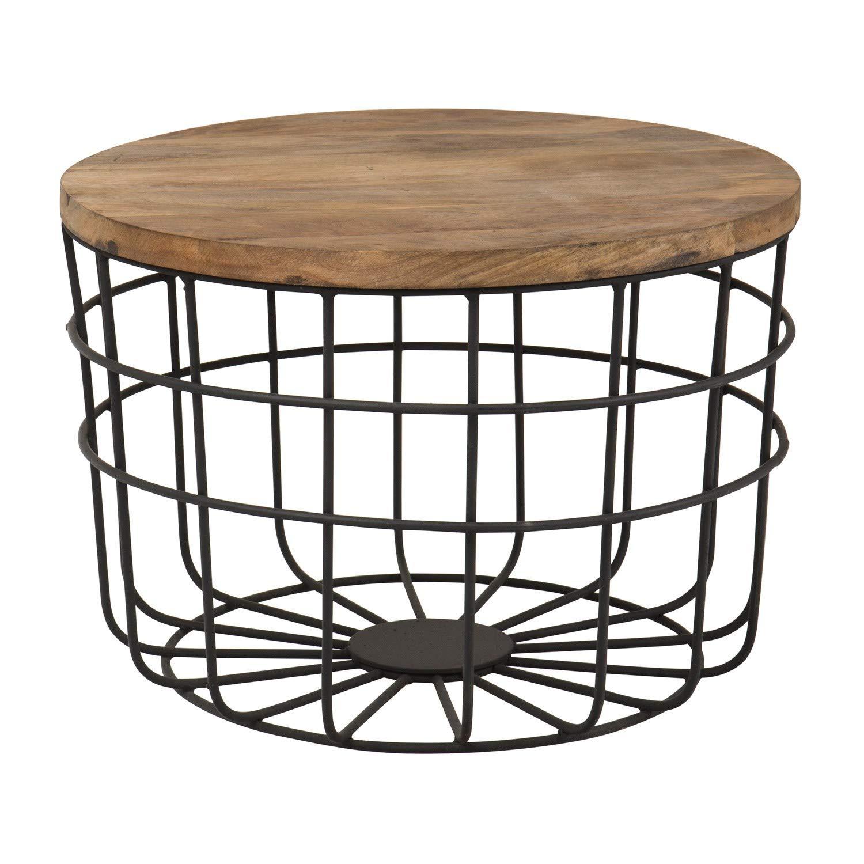 Tisch Ket, Beistelltisch im Upcycling Stil