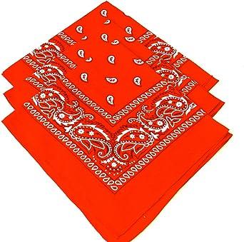 Fashion Hair Accessory Gemini/_mall/® Paisley Bandanas Headband Pack Of 3 Cotton Paisley Print Scarf