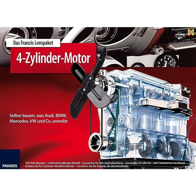 Unbekannt Bausatz 4-Zylinder-Motor 27x22 cm Funktionsmodell ...