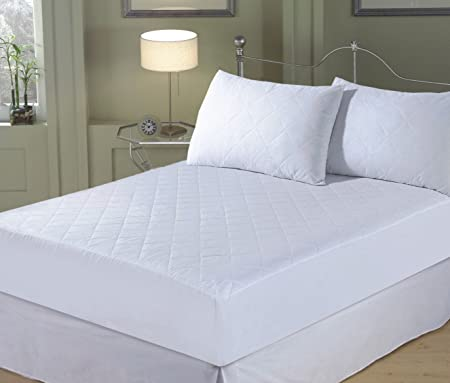 fitted mattress protector. Home Bedding Store King Size, Quilted Mattress Protector, Extra Deep, Fitted Protector R
