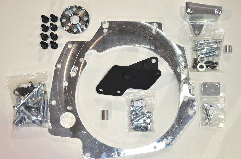 H2B crankshaft spacer adapter for civic 88-95 EG 90-01 DC2 integra gsr ls SI
