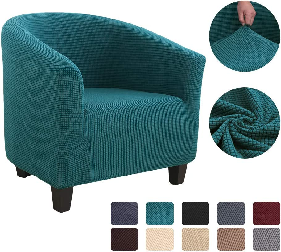 Couch covers papasgix Tub Chair Slipcover Armchair Slipcovers for Dining Living Room Office Reception Chair cover Sofa Covers Pet Covers