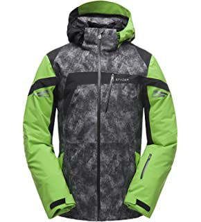 fe3a77161 Amazon.com: SPYDER Men's Jagged Shell GORE-TEX Waterproof Hooded ...