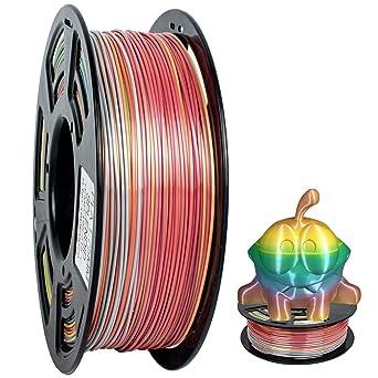 GEEETECH PLA filamento 1.75mm Multicolor, impresora 3D Filamento ...