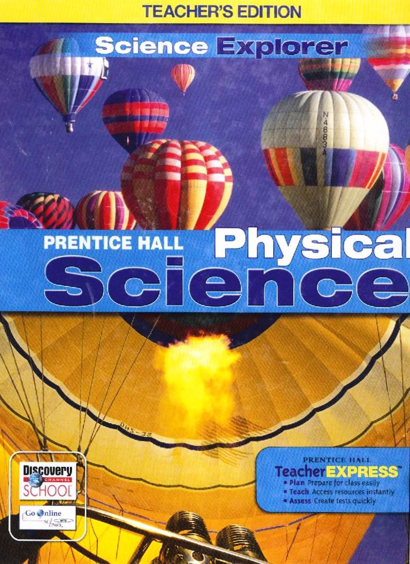 Workbooks physical science guided reading and study workbook : Physical Science Teacher Edition: Pearson: 9780133668636: Amazon ...