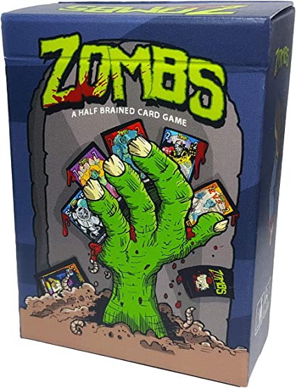 Zombs: A Half-Brained Zombie Card Game
