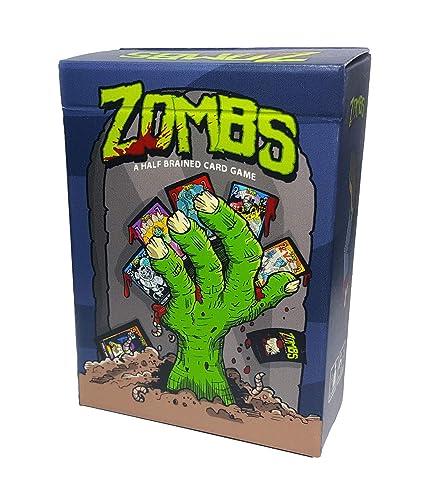 Amazon.com: Zombs: un juego de cartas Zombi semitrenzado ...