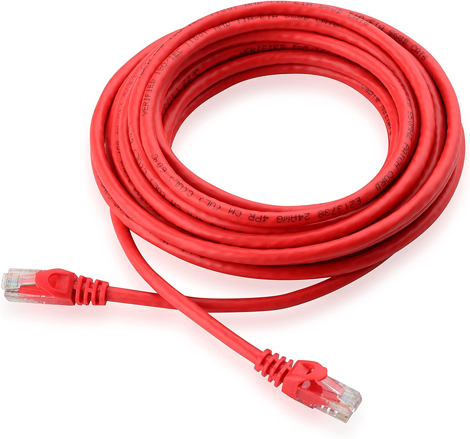 Cable Matters Snagless Cat6 Ethernet Cable (Cat6 Cable, Cat 6 Cable) in Black 25 ft: Computers & Accessories