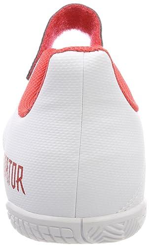 huge selection of 2aa38 2d302 Adidas Predator Tango 18.4 In J H L, Zapatillas de fútbol Sala Unisex Adulto,  Blanco (Ftwbla Negbas Correa 000), 38 2 3 EU  Amazon.es  Zapatos y ...