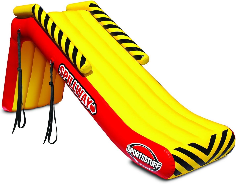 SportsStuff Spillway Inflatable Pontoon Slide - small package, big benefit