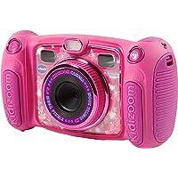 VTech - Kidizoom Duo 5.0 cámara de fotos digital para niños, 5 megapíxeles, pantalla a color, 2 objetivos, color rosa…