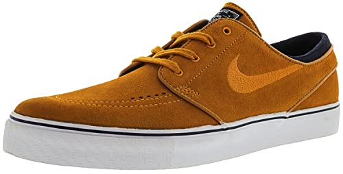 buy online c6ccf e8e05 Nike SB Zoom Stefan Janoski Skate Shoes Sunset Orange Suede - 11: Buy Online  at Low Prices in India - Amazon.in