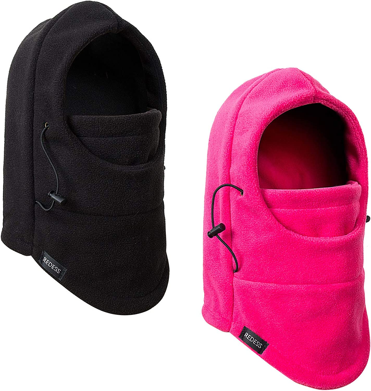 REDESS Kids Winter Windproof Hat, Unisex Children Heavyweight Balaclava, Ski Mask with Thick Warm Fleece Face Cover for Kids