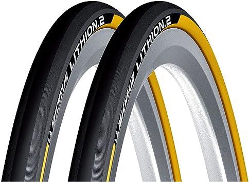 Michelin Lithion - Par de cubiertas plegables para bicicleta de ...