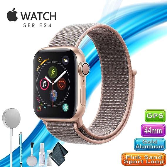various colors 1a296 88e94 Amazon.com: AppIe Watch Series 4 | GPS | 40mm | Gold Aluminum | Pink ...