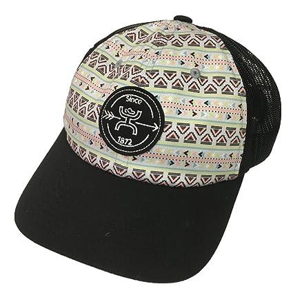 hot sales 5dd2d 5261e Amazon.com  Hooey Ladies Quake Aztec Black Mesh Trucker Hat  Pet Supplies