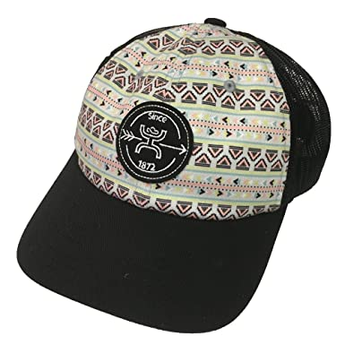 timeless design 649df 3b433 ... usa hooey brand quake aztec print black snapback hat 1842t bk a01aa  7cfe0