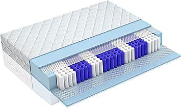 Taschenfederkernmatratze 7-Zonen Matratze Tonnentaschenfederkernmatratze