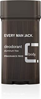 product image for Every Man Jack Deodorant, Aluminum Free, Fragrance Free, 3.0 Ounce