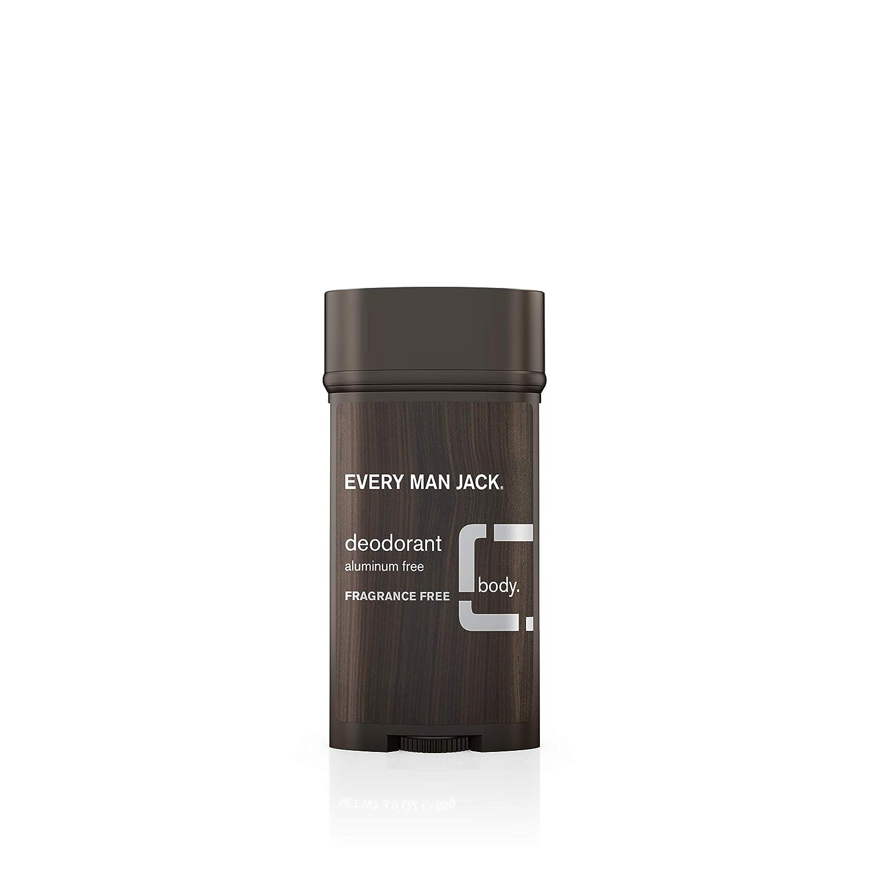 Every Man Jack Body Deodorant - Fragrance Free - 3 Oz by Every Man Jack: Amazon.es: Salud y cuidado personal