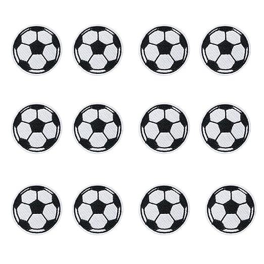 12pcs bola parches hierro en parches de fútbol de balón de fútbol ...