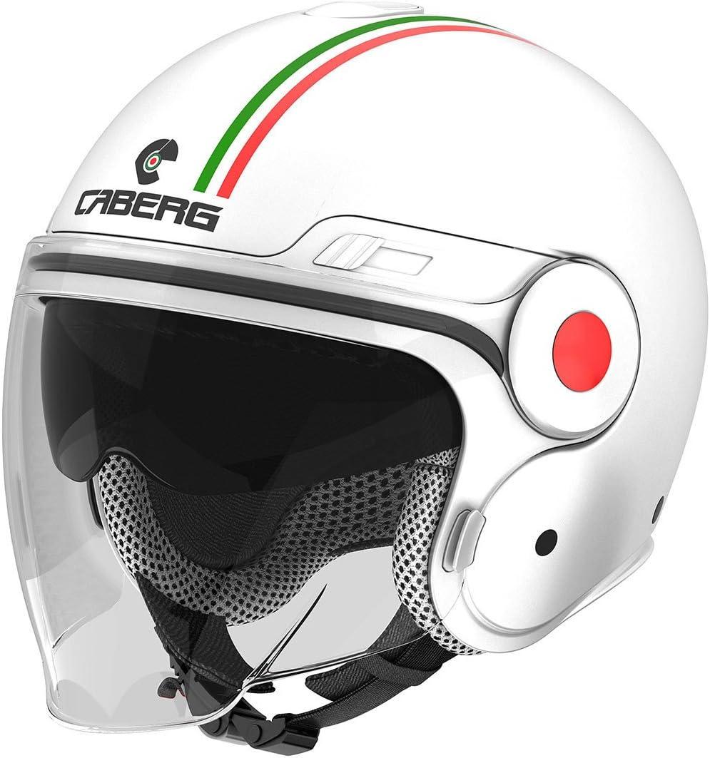 Caberg Uptown Italia Helm Weiss Gr/ün Rot 30550060