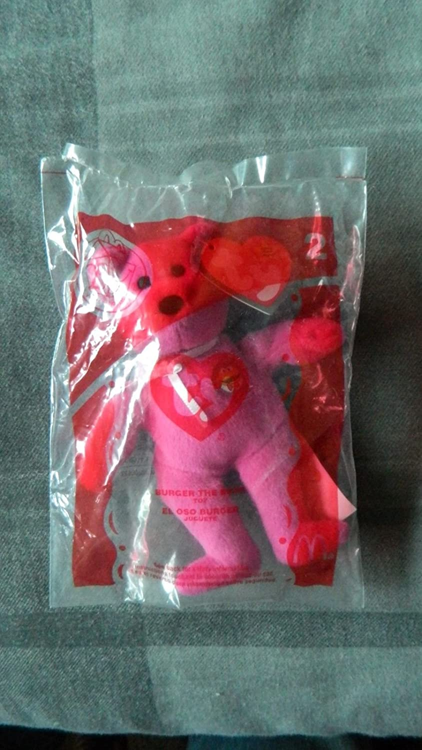 Ty Beanie Babies Burger the Bear McDonald/'s 2004 New #2