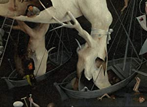 Bosch Hieronymus The Garden of Earthly Delights Right Panel Detail Feet of The Tree Man Puzzles Jigsaw 500 Piece