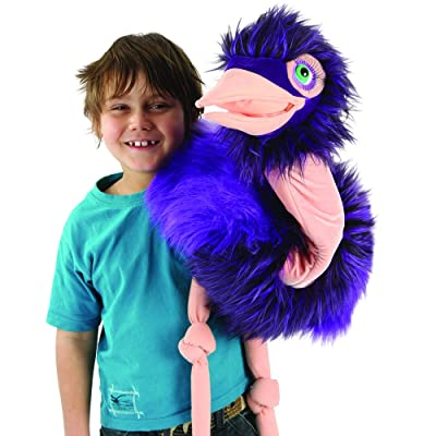 The Puppet Company Giant Birds Ostrich Hand Puppet: Toys & Games