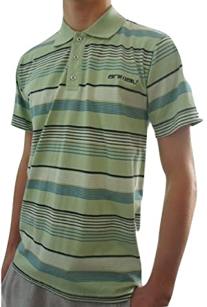 Animal - Polo - Rayas - para Hombre Verde Verde Small: Amazon.es ...