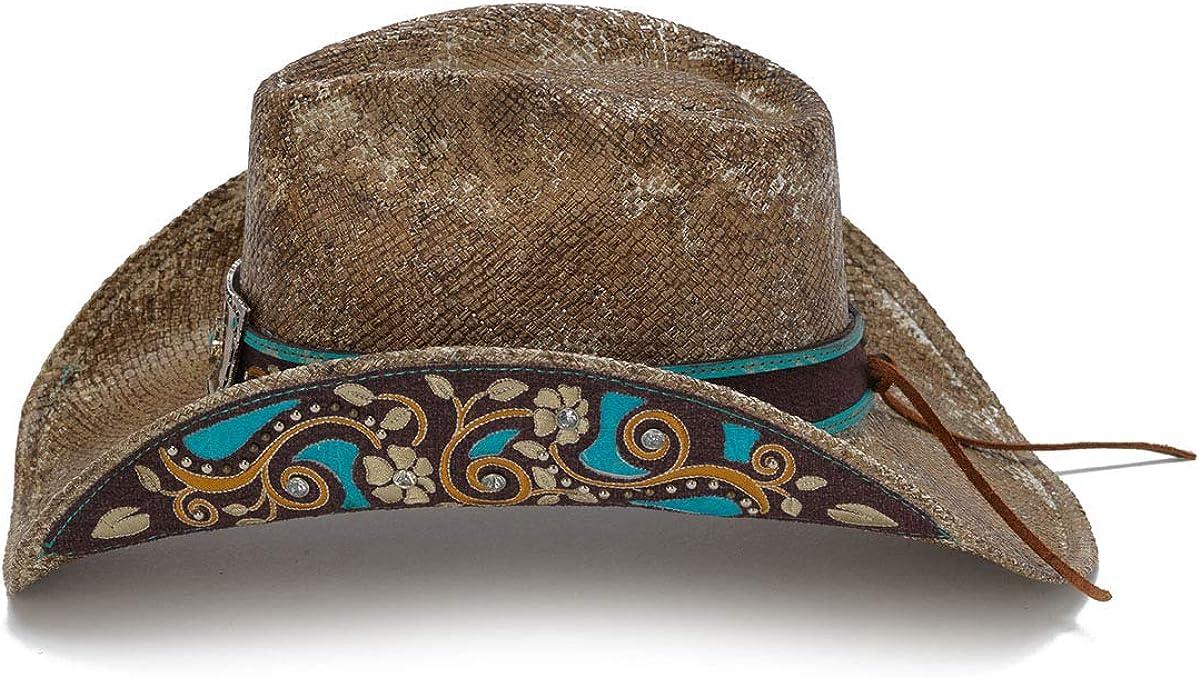 Stampede Hats Womens Cactus Boomer Flowers Western Hat