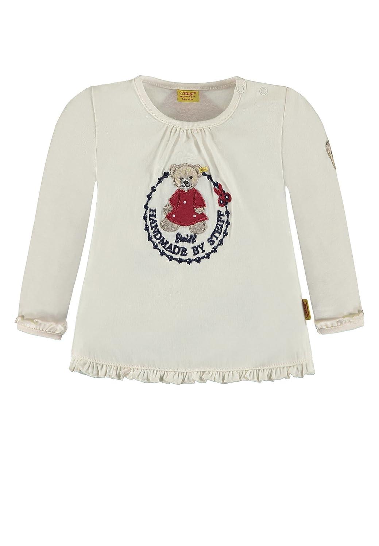 Steiff Baby-Mädchen Langarmshirt Steiff-SM-6842221-0001