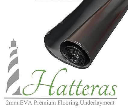 Hatteras High Density Heavy Duty Laminate Flooring Underlayment 2mm