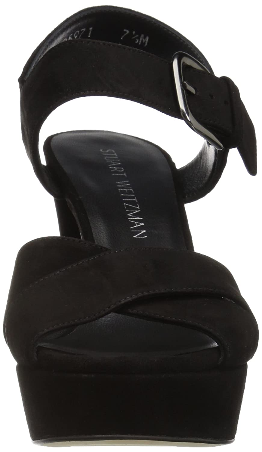 8556ac22855d Amazon.com  Stuart Weitzman Women s Exhale Wedge Sandal  Shoes