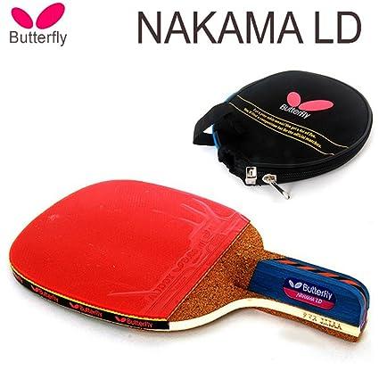 Amazon.com: Mariposa Nakama LD Raqueta de tenis de mesa ...