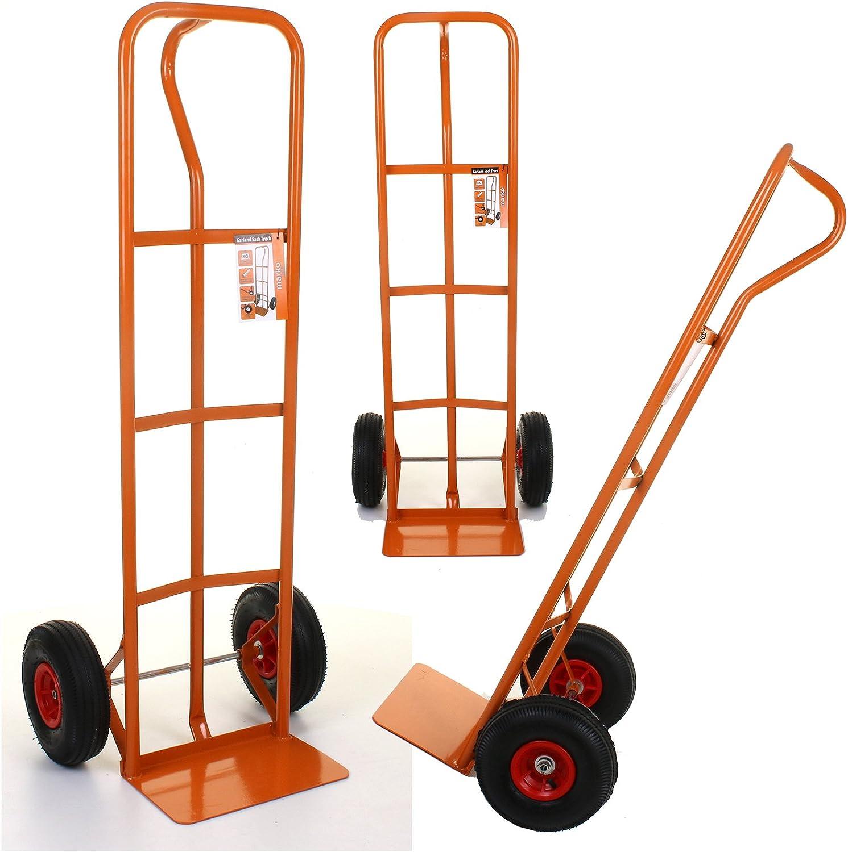 Marko Tools Sack Truck Hand Trolley Industrial Heavy Duty Pneumatic Tyres Cart Transport